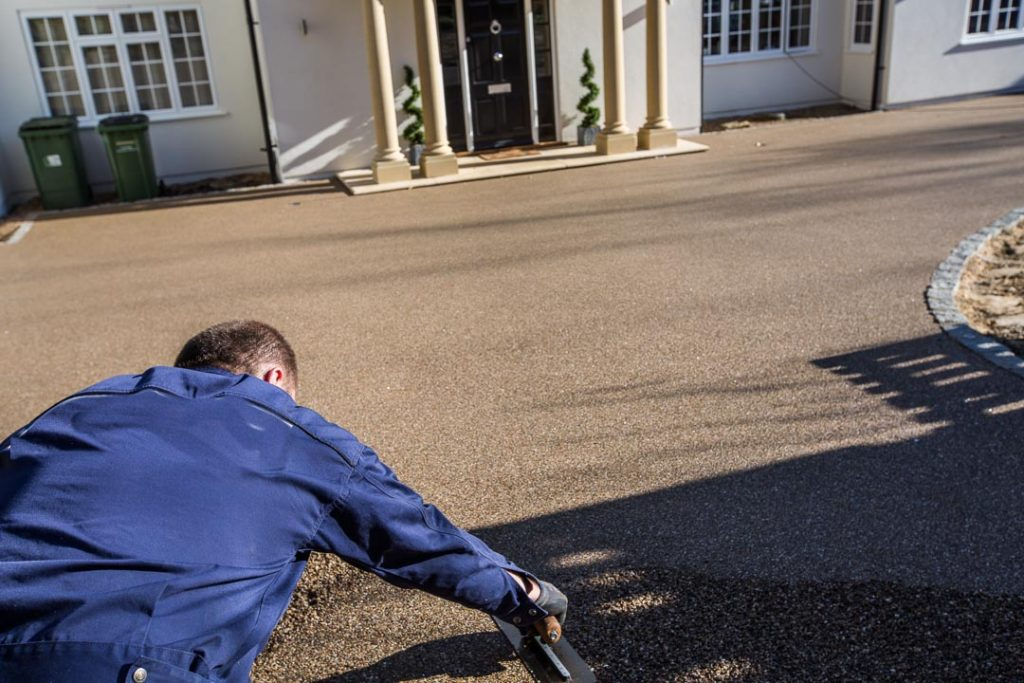 Resin Bound driveway Cleaning